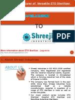 ETO sterilizer manufacturers