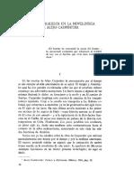 TIEMPOS PARALELOS EN LA NOVELISTICA DE ALEJO CARPENTIER