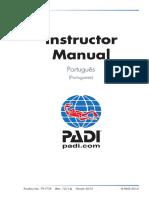 PADI Instructor Manual Portuguese 2015