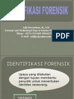 Identifikasi Forensik