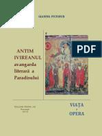 AntimIvireanulAvangardaLiteraraAParadisului.ViataSiOpera2010.pdf