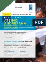Rapport Diagnostic de Conflit - Atsimo-Andrefana