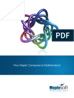 How Maple Compares to Mathematica