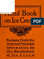 Hand Book on Ice Cream (1905)