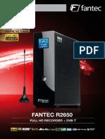 EnregistreurVideo FANTEC R2650 FR