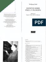 Pauli, Wolfgang - Escritos Sobre Física y Filosofía