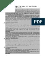Analisis Pieces Kartu Rencana Studi