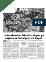 151228 La Verdad CG- La Navidad Multicultural Que ya Espera La Cabalgata de Reyes Pp.8 y 9
