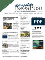 Visayan Business Post 28.12.15
