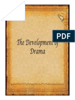 The Development of Drama