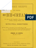 Ten Choice Receipts for Making Ice Cream (1881)