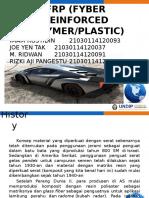 makalah Frp (Fyber Reinforced Polymer)