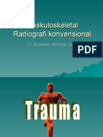 09. Dr. Budiawan - KULIAH Radiologi Muskuloskeletal UKI.2008 1.