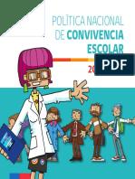 Politica 2015 2018 Convivencia Escolar
