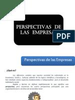 Perspectivas de Las Empresas
