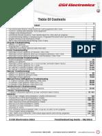Troubleshooting Guide CDI ELECTRONICS