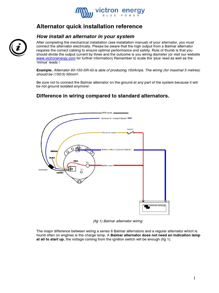 Alternator quick installation reference electrical wiring switch asfbconference2016 Images