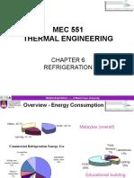 TEng - Ch06 MEC 551 Refrigeration