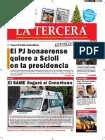 Diario La Tercera 28.12.2015