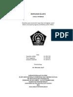Refrat & Visum Luka Tembak Forensik