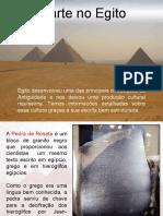 A arte no Egito