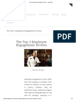 The Top 3 Employee Engagement Drivers - Hppy Blog
