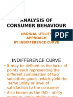Analysis of Consumer Behaviour