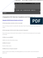 Unigraphics NX Interview Questions and Answers - 3 » Engineering Wave