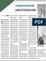 28-12-15 Monterrey desconoce paradero de sistema para multas