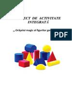 14-OnicaLarisa-Proiect de Activitate Integrata Oraselul Formelor Geometrice