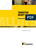 Tungsten Heavy Alloys - Kennametal