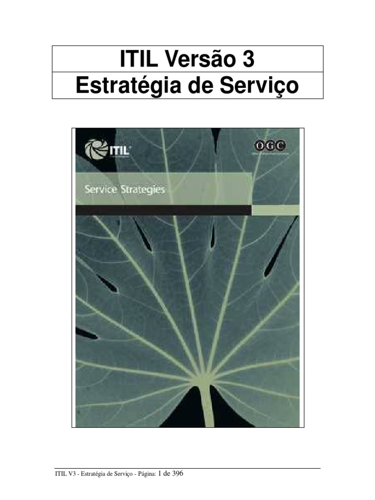 69bb313497f 001 ITIL V3 Estratégia de Serviço