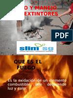 4. Uso y Manejo de Extintores
