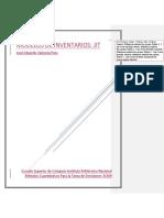 Sistema de Modelo de Inventarios