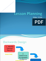 All Lesson Planning Powerpoints 3.13.09