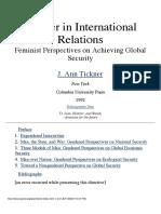 Gender in IR