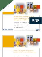 Manufacturing Metricsa & KPIs