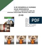 Dernier - Memoria Institucional Programa DEHL UDP