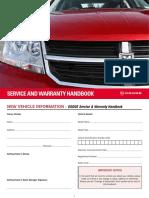 Service and Warranty Handbook
