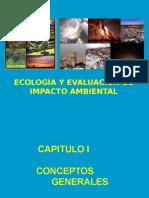 ECOGOGIA Y EVALUACION DE IMPACTO AMBIENTAL