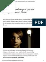 Como Hacer y Cómo Pensar Para Ganar Más Dinero - FinanzasPersonales.com