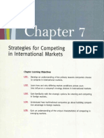 Chapter 7 Strategies Competing ... Markets