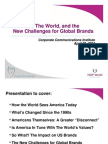 American Values and Globalization