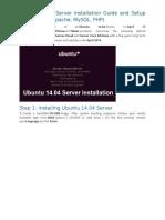 Ubuntu 14 Server
