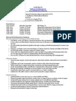 lbarrett edtc resume