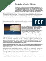 Características del mejor Forex Trading Software