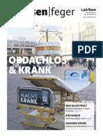 strassenfeger Ausgabe 22 2015 - Obdachlos & Krank