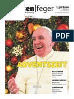 strassenfeger Ausgabe 24-2015 – Adventszeit