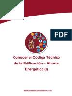 3 UC01-Codigo Tecnico de La Edificacion-Ahorro Energetico I