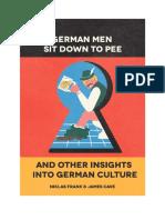 German Men Sit Down to Pee Sample